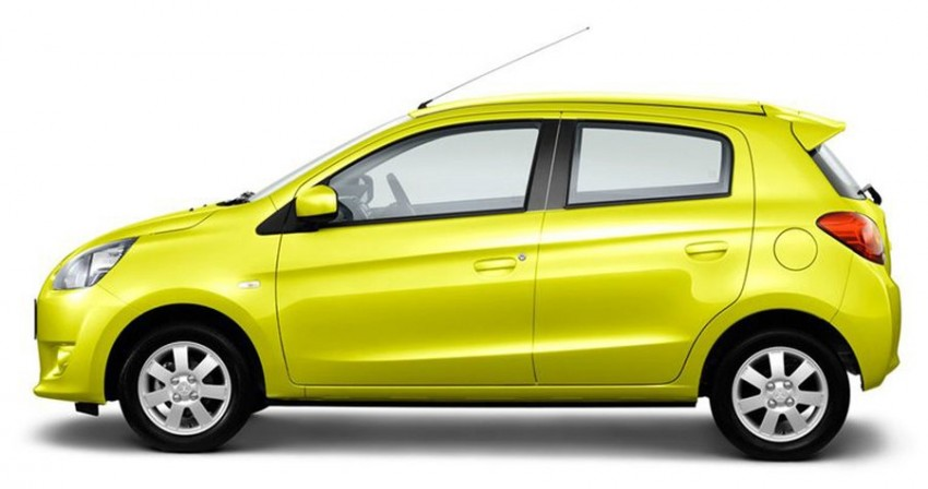Mitsubishi Mirage to begin selling in Thailand end-March Image #94610
