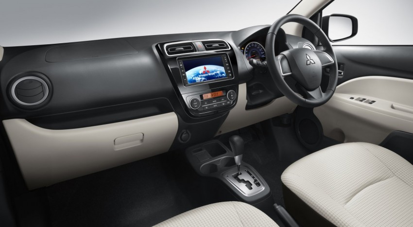 Mitsubishi Mirage to begin selling in Thailand end-March Image #94608