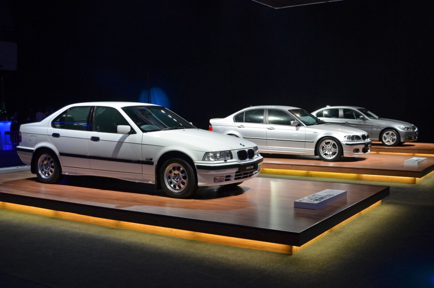 GALLERY: BMW 3-Series lineage display at the F30 launch Image #96717