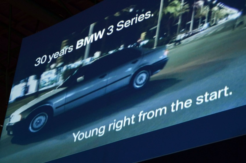GALLERY: BMW 3-Series lineage display at the F30 launch Image #96723