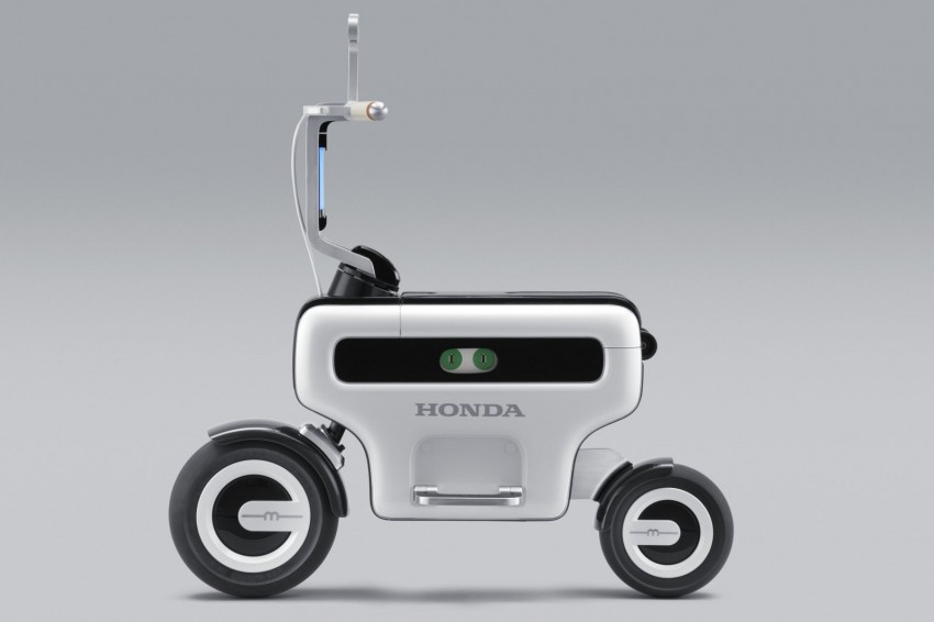 Honda Micro Commuter EV concept and Motor Compo two-wheel EV concept – twice the versatility, and fun Image #76395