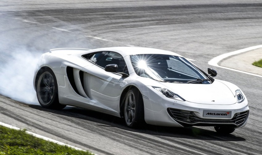 McLaren MP4-12C updated – 25 PS more, faster shifts Image #112366