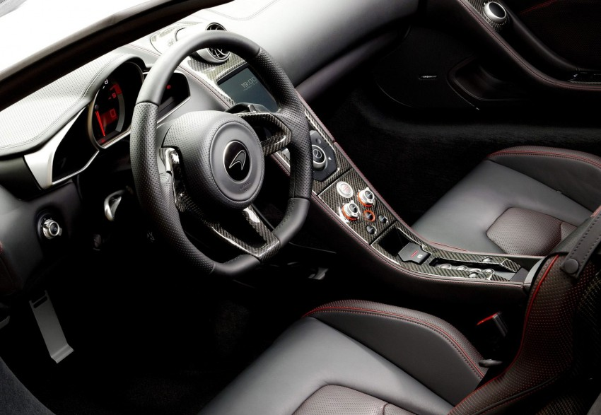 McLaren MP4-12C updated – 25 PS more, faster shifts Image #112368