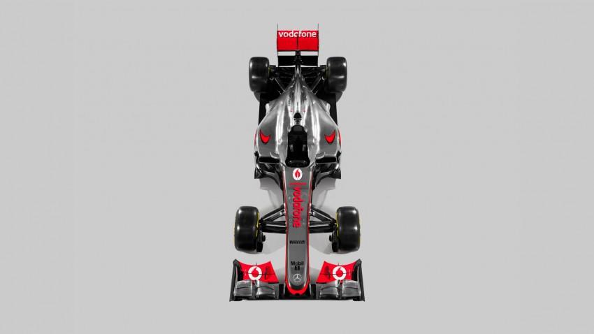 F1: McLaren reveals its 2012 challenger – the MP4-27 Image #86199