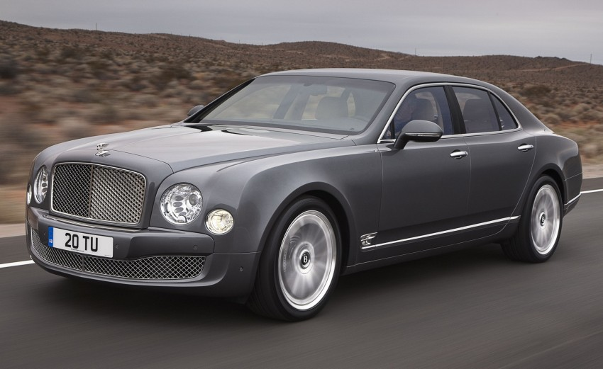 Bentley Mulsanne Mulliner Driving Specification – sporting interpretation set to debut in Geneva Image #89294