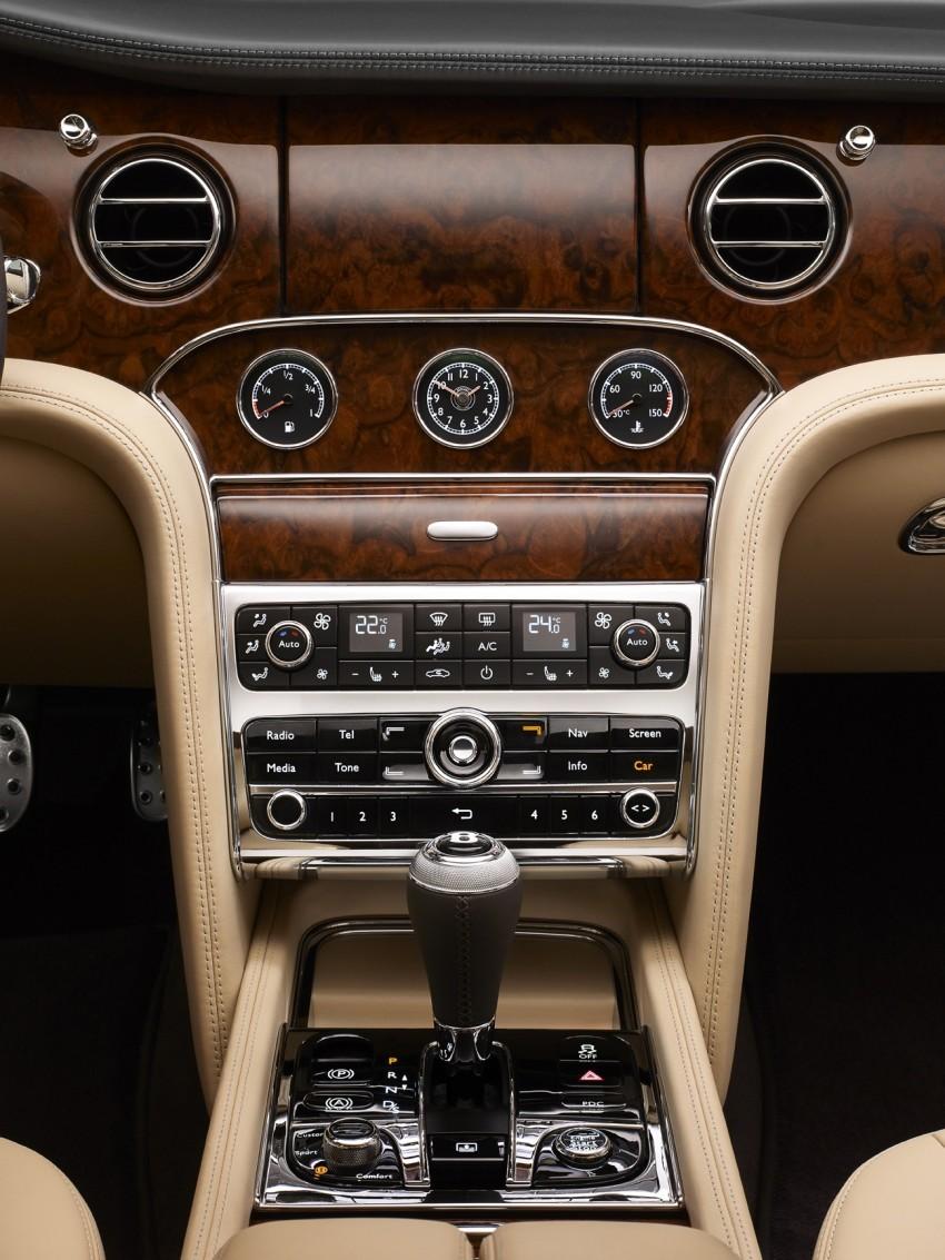 Bentley Mulsanne Mulliner Driving Specification – sporting interpretation set to debut in Geneva Image #89295