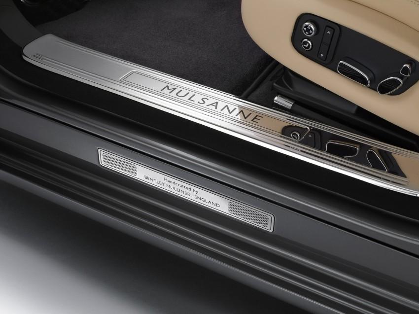 Bentley Mulsanne Mulliner Driving Specification – sporting interpretation set to debut in Geneva Image #89304