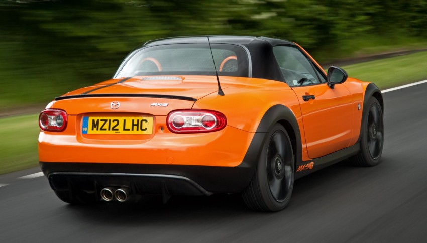 Mazda MX-5 GT Concept: 205 hp of roadster muscle Image #114414
