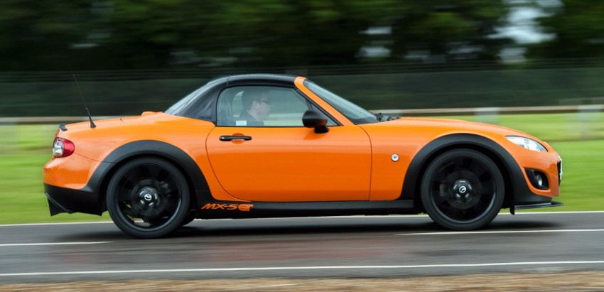 Mazda MX-5 GT Concept: 205 hp of roadster muscle Image #114413