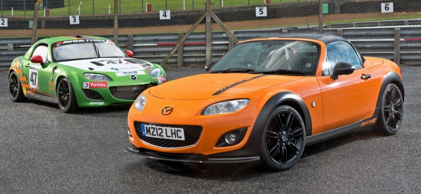 Mazda MX-5 GT Concept: 205 hp of roadster muscle Image #114411
