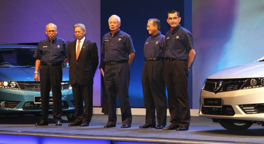 Proton Prevé with 1.6 turbo launched: RM60k – RM73k! Image #100954