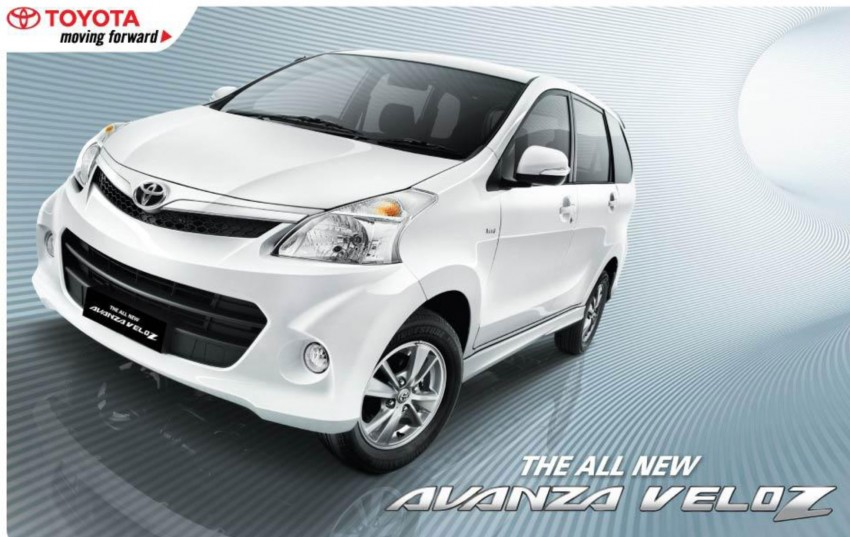 New 2011 Toyota Avanza facelift unveiled in Indonesia Image #77571