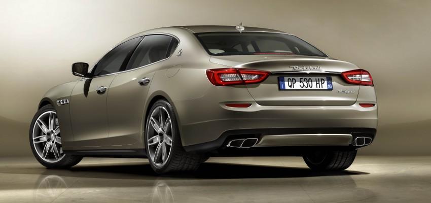 New Maserati Quattroporte – all new model unveiled! Image #140023