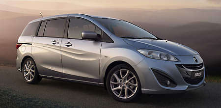 New Mazda5 Previewed - forced to wear the new look