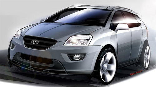 2007 Kia Carens Preview