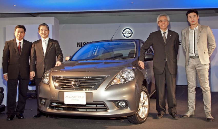 Nissan Almera launched in Thailand – it's the Sunny! Image #72023