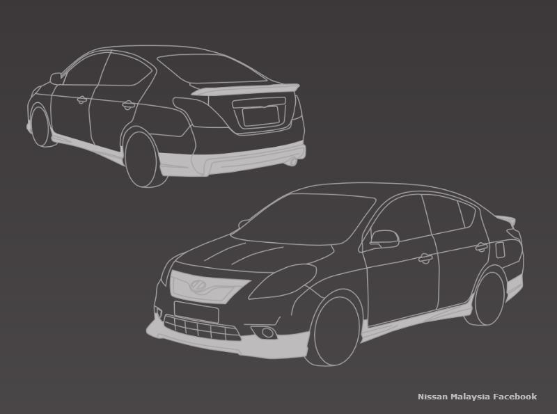 Nissan Almera with Impul bodykit to join the range Image #136076