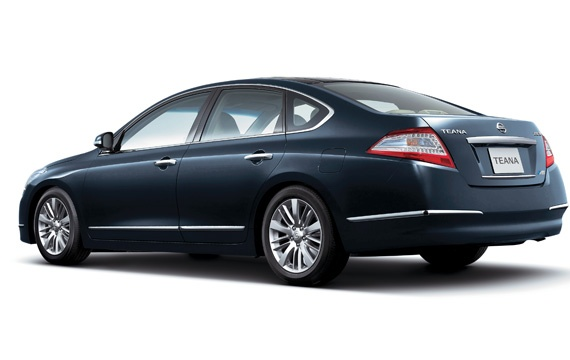 Nissan Teana facelift – small changes for Japan Image #121391