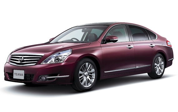 Nissan Teana facelift – small changes for Japan Image #121392