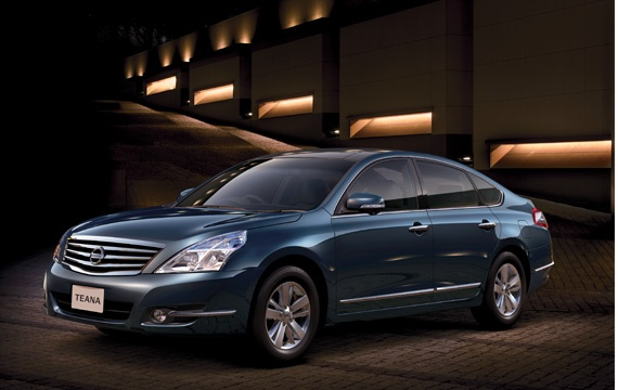 Nissan Teana facelift – small changes for Japan Image #121403