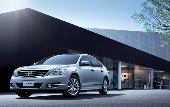 Nissan Teana facelift – small changes for Japan Image #121412
