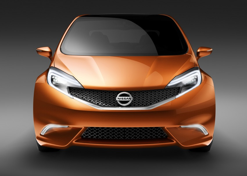 Nissan INVITATION Concept previews new B-segment car Image #86548