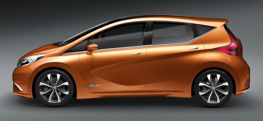 Nissan INVITATION Concept previews new B-segment car Image #86547