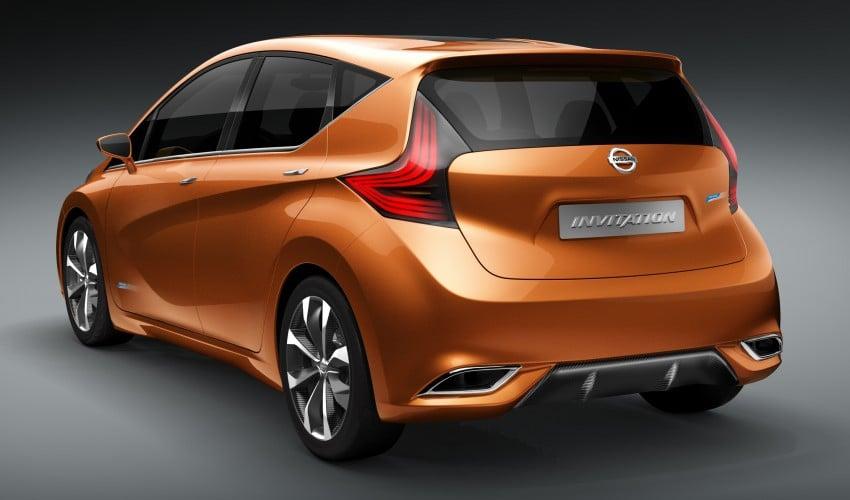 Nissan INVITATION Concept previews new B-segment car Image #86546