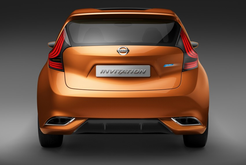 Nissan INVITATION Concept previews new B-segment car Image #86545