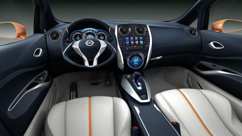 Nissan INVITATION Concept previews new B-segment car Image #86551