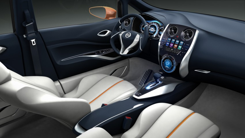Nissan INVITATION Concept previews new B-segment car Image #86550