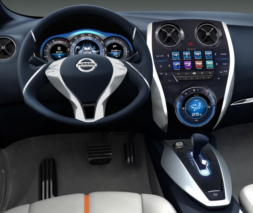 Nissan INVITATION Concept previews new B-segment car Image #86544