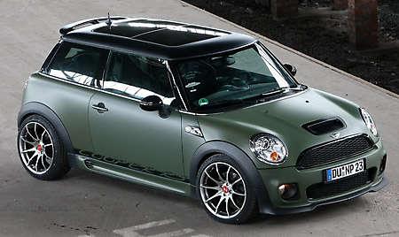 Matte Military Green Mini Cooper S By Nowack Motors