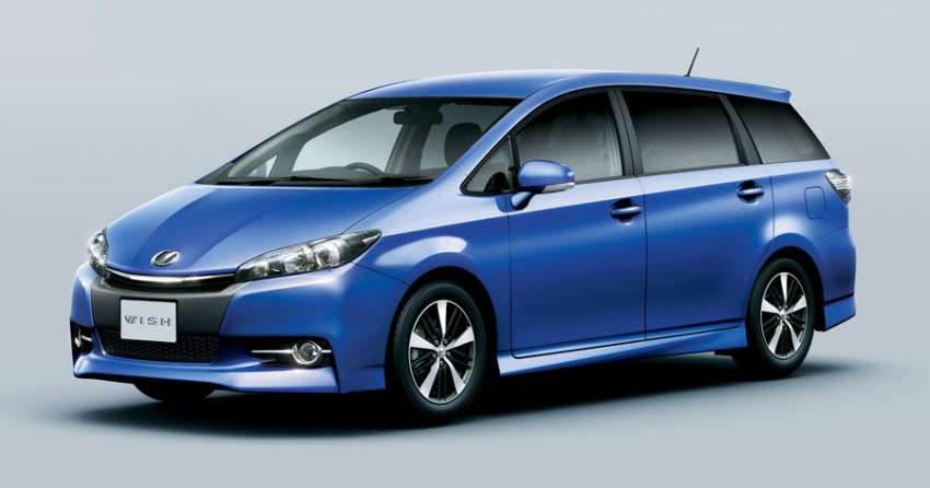 Toyota Wish facelift for 2012 on sale in Japan Image #106822