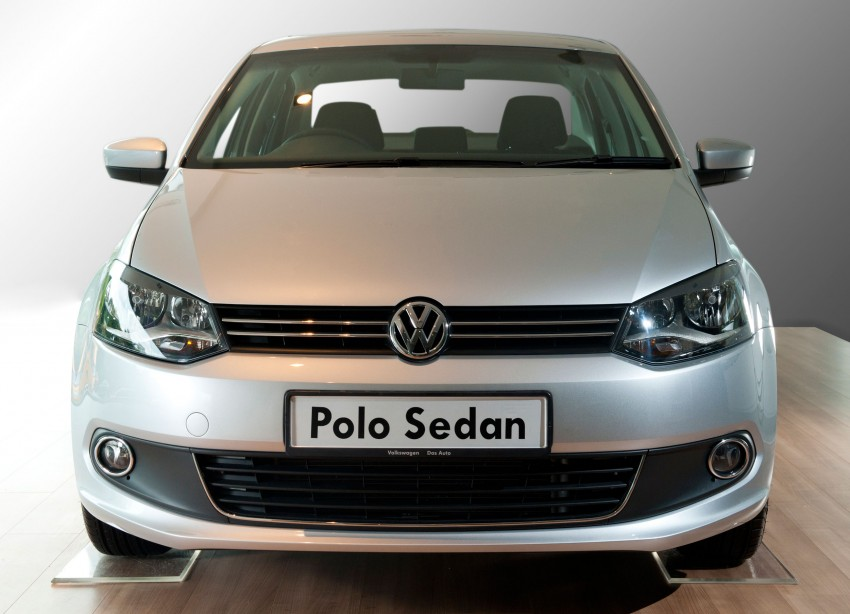 Volkswagen Polo Sedan launched – RM99,888 Image #101739