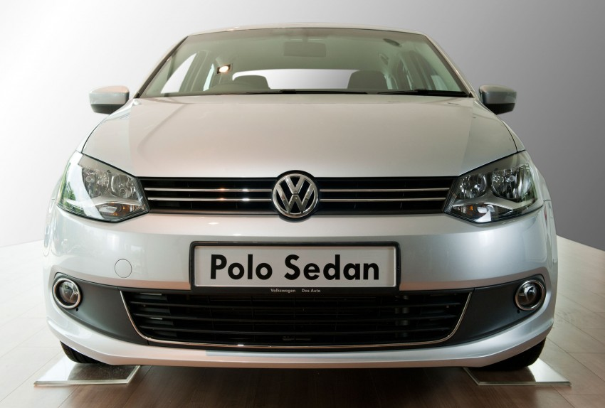 Volkswagen Polo Sedan launched – RM99,888 Image #101748