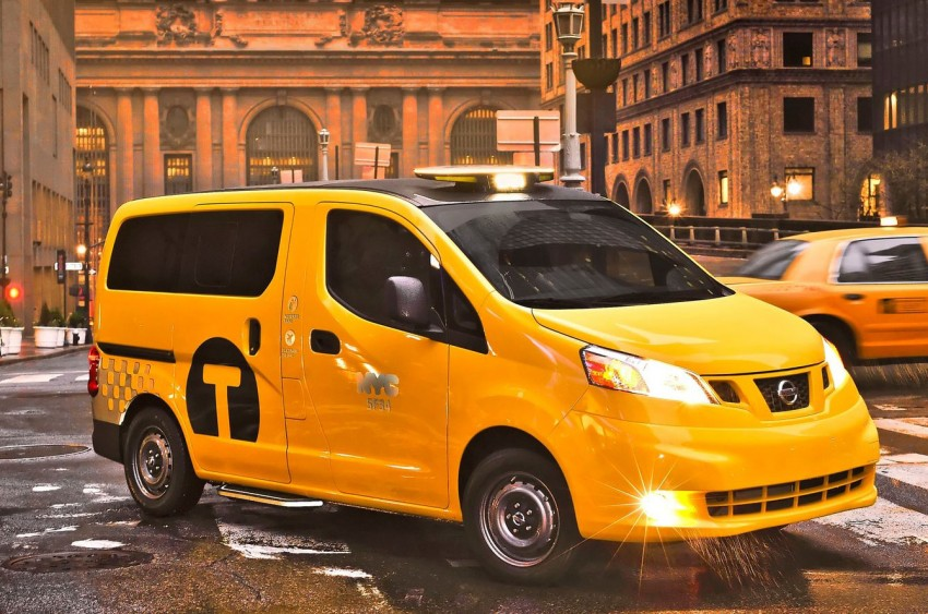 Nissan NV200 Taxi – New York City's Taxi of Tomorrow Image #100590