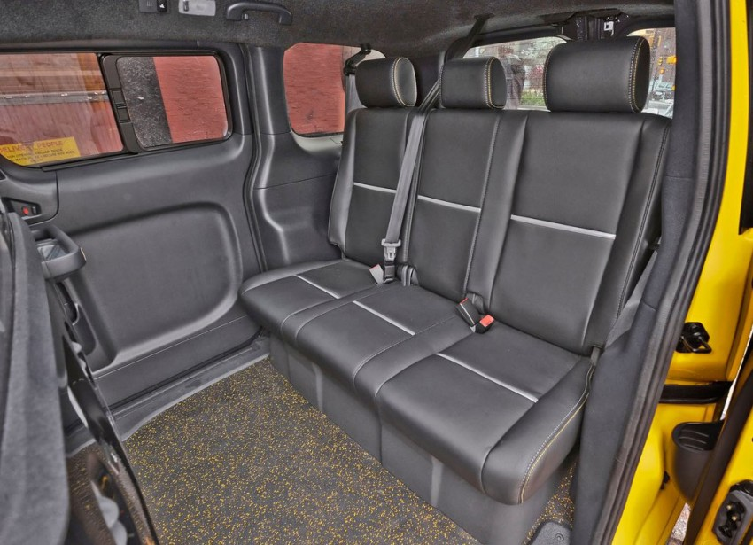 Nissan NV200 Taxi – New York City's Taxi of Tomorrow Image #100592