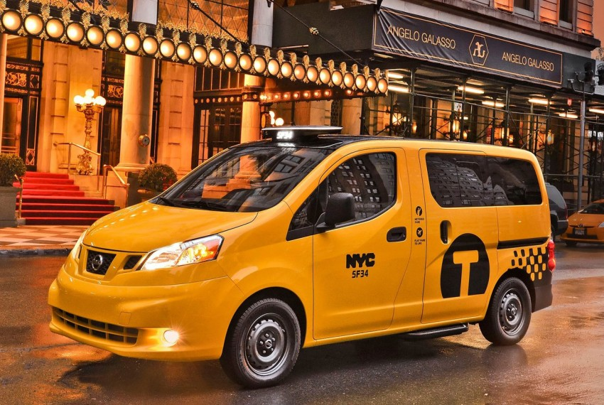 Nissan NV200 Taxi – New York City's Taxi of Tomorrow Image #100593