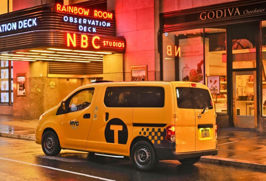 Nissan NV200 Taxi – New York City's Taxi of Tomorrow Image #100594