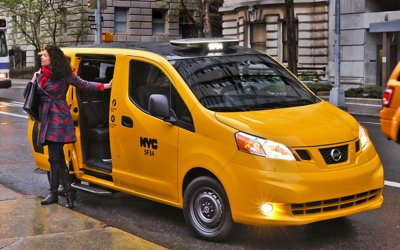 Nissan NV200 Taxi – New York City's Taxi of Tomorrow Image ...