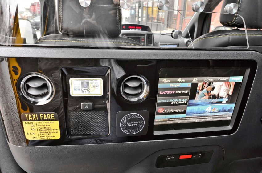 Nissan NV200 Taxi – New York City's Taxi of Tomorrow Image #100600