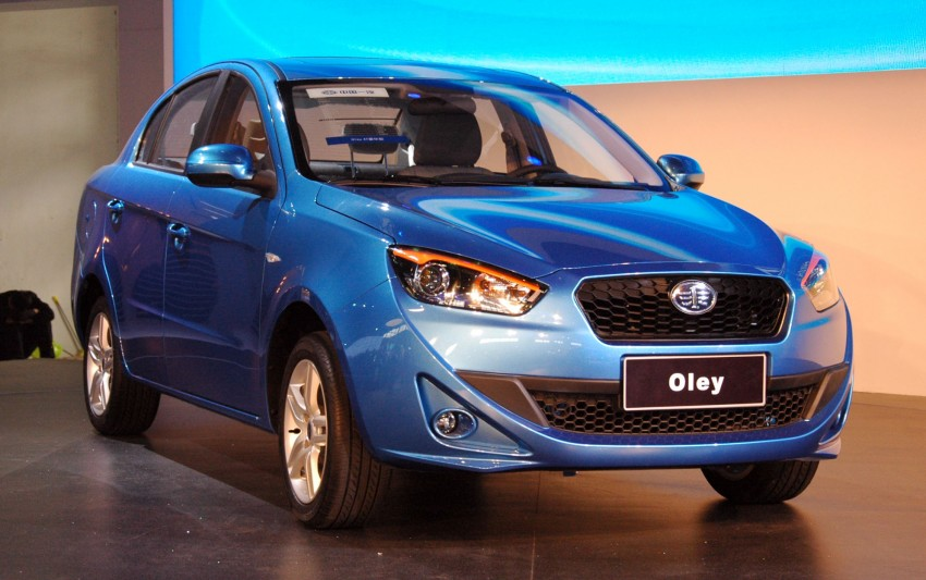 FAW Oley – production vehicle makes Beijing debut Image #102803