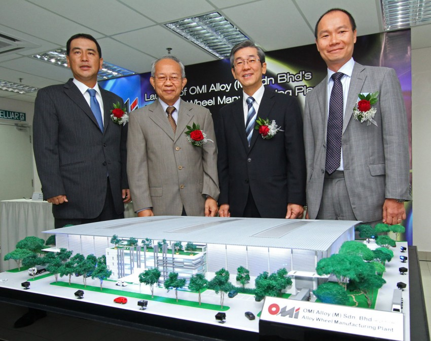 Oriental Metal Industries invests in RM103m alloy wheel plant in Rawang, wants to be country's top wheel maker Image #83854