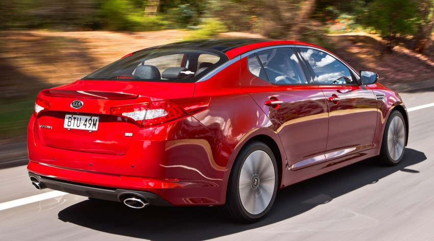 DRIVEN: Kia Optima 2.4 GDI sampled in Melbourne Image #66598