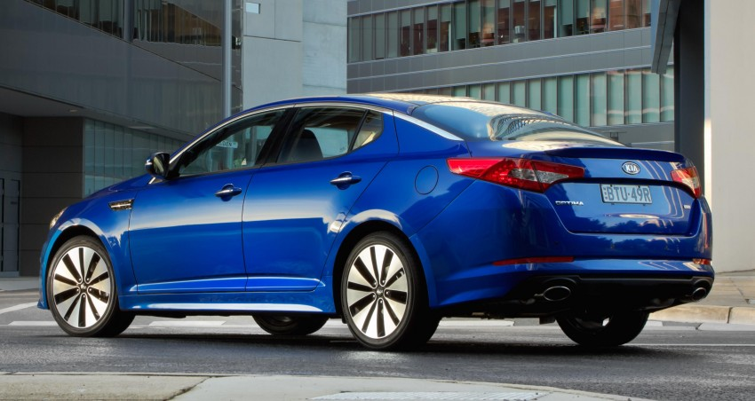 DRIVEN: Kia Optima 2.4 GDI sampled in Melbourne Image #66600