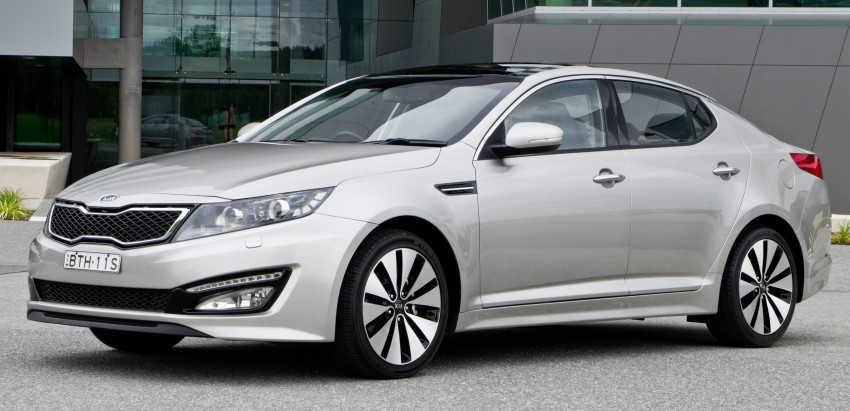 DRIVEN: Kia Optima 2.4 GDI sampled in Melbourne Image #66601