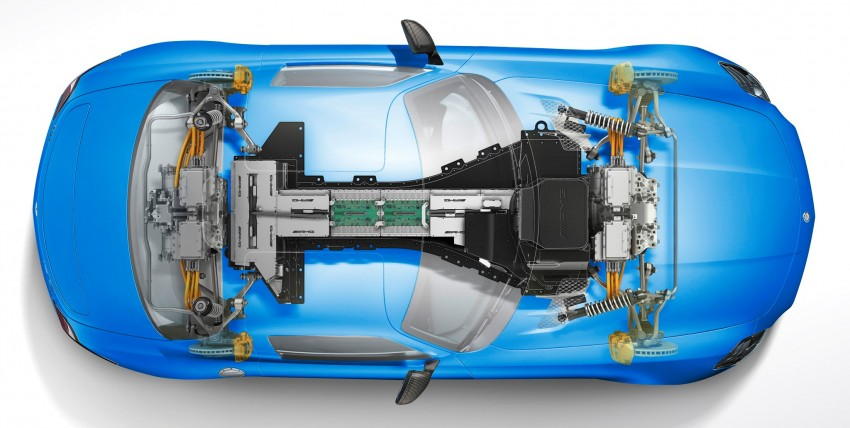 Mercedes-Benz SLS AMG Electric Drive shown in Paris: world's most powerful production EV Image #134232