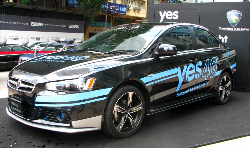 Yes 4G Proton Inspira unveiled at Bukit Bintang – and you can win it and other prizes in an online contest! Image #89118