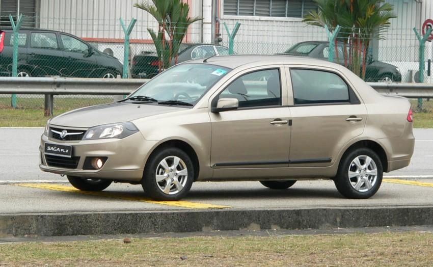 Proton Saga FLX 1.3L – first drive impressions Image #65763